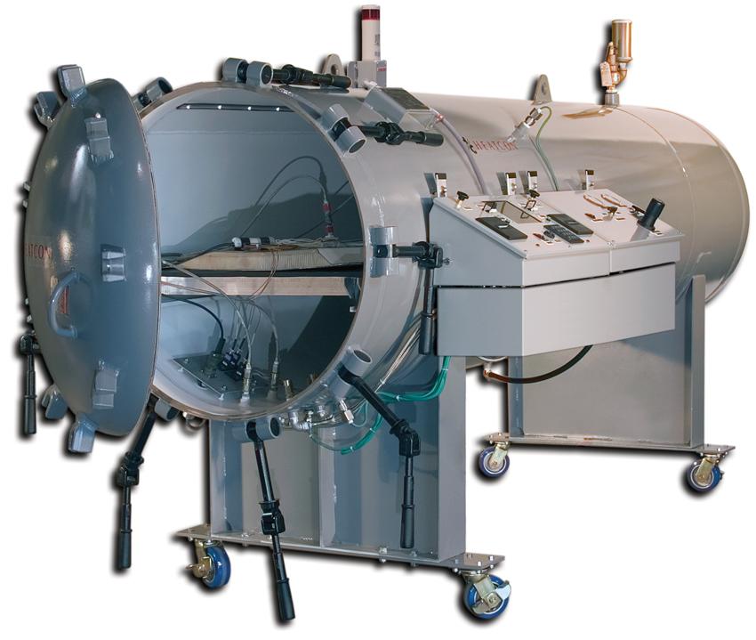 HCS3100 RepairClave, HEATCON Composite Systems,
