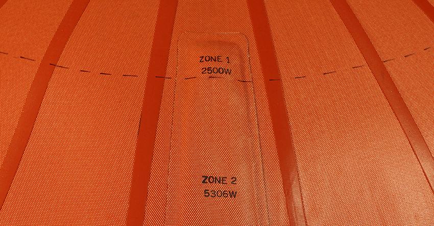 HC787120G42Z2, Boeing 787 Radome, Heat Blanket, 787, Heatcon Heat Blanket Outer