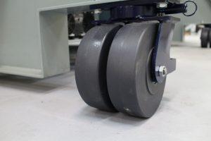 Casters, HCS3100, RepairClave, HEATCON Composite Systems, Pressure Vessel, Composite Repair